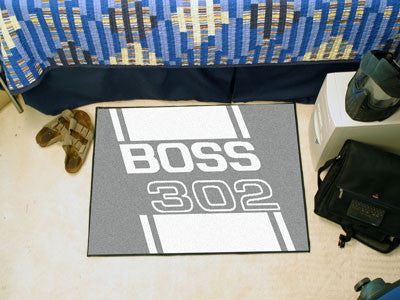 Boss 302 Starter Rug 19x30 - Gray - FANMATS - Dropship Direct Wholesale - 2