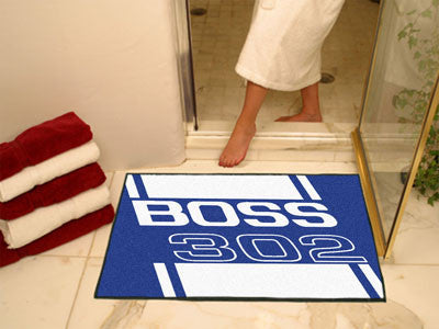 Boss 302 All-Star Mat 33.75x42.5 - Blue - FANMATS - Dropship Direct Wholesale - 2