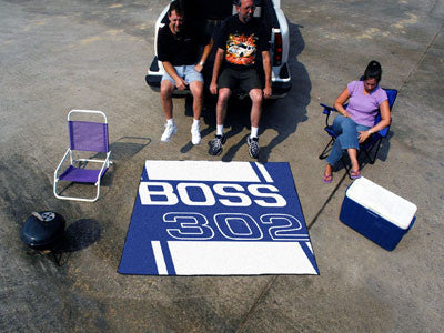 Boss 302 Tailgater Rug 5x6 - Blue - FANMATS - Dropship Direct Wholesale - 2