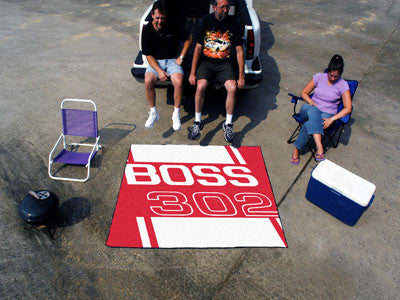 Boss 302 Tailgater Rug 5x6 - Red - FANMATS - Dropship Direct Wholesale - 2
