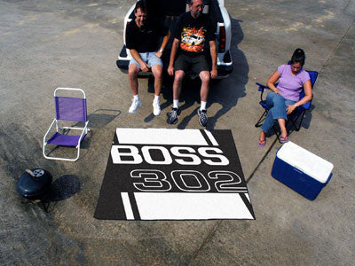 Boss 302 Tailgater Rug 5x6 - Black - FANMATS - Dropship Direct Wholesale - 2