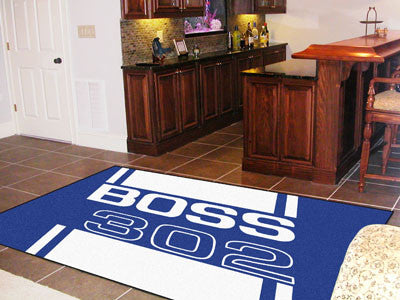 Boss 302 Rug 5x8 - Blue - FANMATS - Dropship Direct Wholesale - 2
