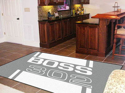 Boss 302 Rug 5x8 - Gray - FANMATS - Dropship Direct Wholesale - 2