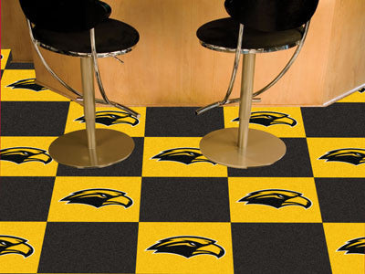 University of Southern Mississippi Carpet Tiles 18x18 tiles - FANMATS - Dropship Direct Wholesale