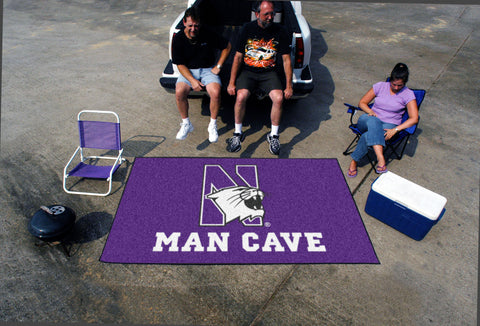 Northwestern University Man Cave UltiMat Rug 5x8 - FANMATS - Dropship Direct Wholesale