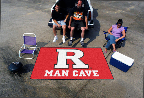 Rutgers Man Cave UltiMat Rug 5x8 - FANMATS - Dropship Direct Wholesale
