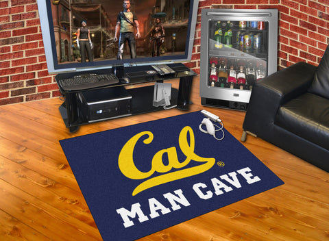 UC Berkeley Man Cave All-Star Mat 33.75x42.5 - FANMATS - Dropship Direct Wholesale