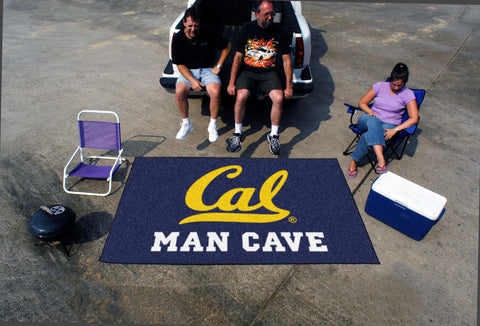 UC Berkeley Man Cave UltiMat Rug 5x8 - FANMATS - Dropship Direct Wholesale