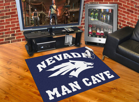 University of Nevada Man Cave All-Star Mat 33.75x42.5 - FANMATS - Dropship Direct Wholesale