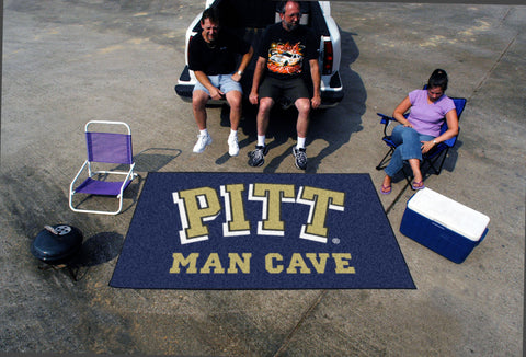 University of Pittsburgh Man Cave UltiMat Rug 5x8 - FANMATS - Dropship Direct Wholesale