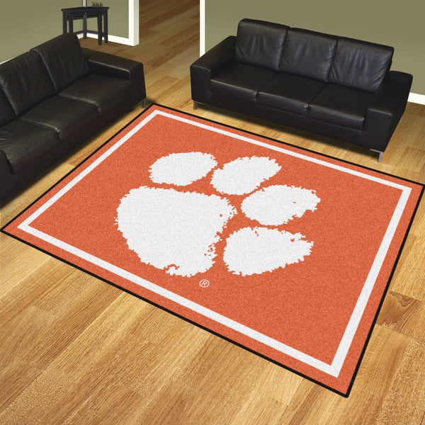 Clemson University 8x10 Rug - FANMATS - Dropship Direct Wholesale