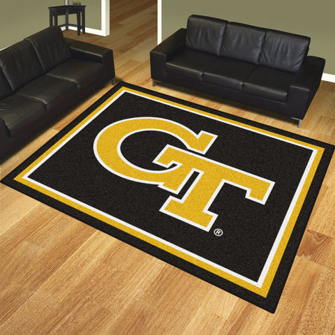 Georgia Tech 8x10 Rug - FANMATS - Dropship Direct Wholesale