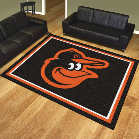 Baltimore Orioles 8x10 Rug - FANMATS - Dropship Direct Wholesale