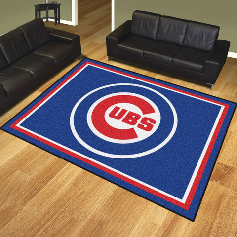 Chicago Cubs 8x10 Rug - FANMATS - Dropship Direct Wholesale