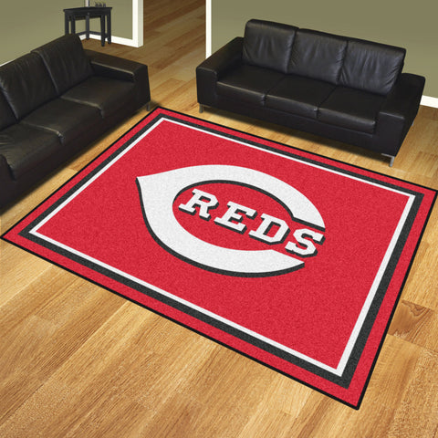 Cincinnati Reds 8x10 Rug - FANMATS - Dropship Direct Wholesale