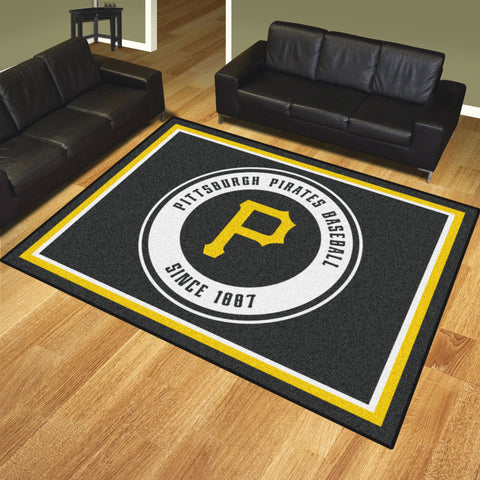 Pittsburgh Pirates 8x10 Rug - FANMATS - Dropship Direct Wholesale