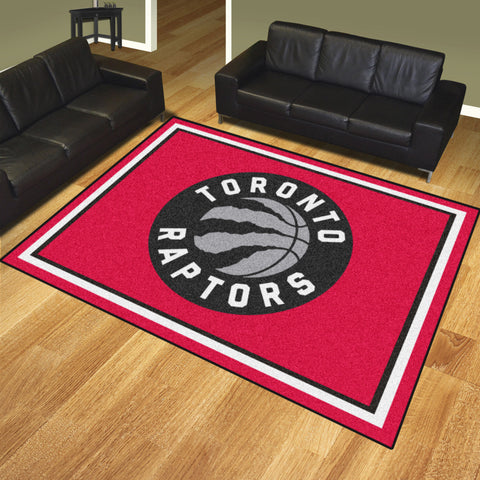 NBA - Toronto Raptors 8x10 Rug - FANMATS - Dropship Direct Wholesale