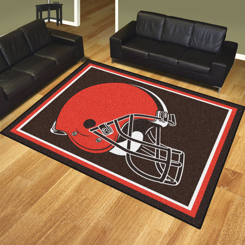 Cleveland Browns 8x10 Rug - FANMATS - Dropship Direct Wholesale