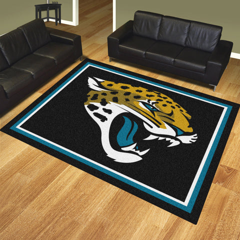 Jacksonville Jaguars 8x10 Rug - FANMATS - Dropship Direct Wholesale