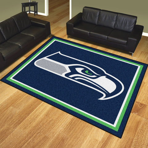 Seattle Seahawks 8x10 Rug - FANMATS - Dropship Direct Wholesale