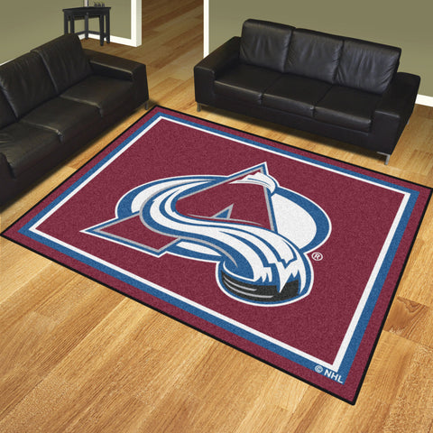 Colorado Avalanche 8x10 Rug - FANMATS - Dropship Direct Wholesale
