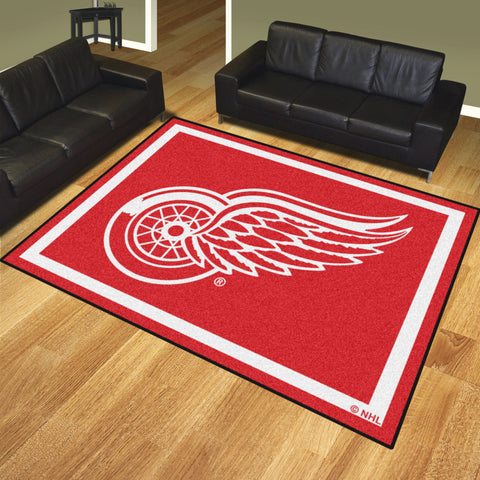 Detroit Red Wings 8x10 Rug - FANMATS - Dropship Direct Wholesale