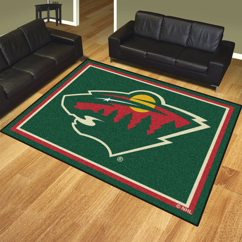 Minnesota Wild 8x10 Rug - FANMATS - Dropship Direct Wholesale