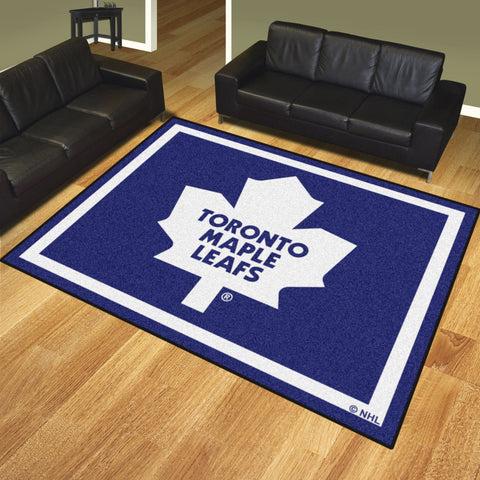 Toronto Maple Leafs 8x10 Rug - FANMATS - Dropship Direct Wholesale