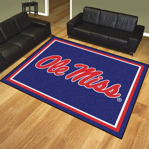 University of Mississippi 8x10 Rug - FANMATS - Dropship Direct Wholesale