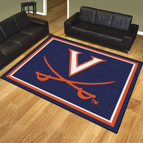 University of Virginia 8x10 Rug - FANMATS - Dropship Direct Wholesale