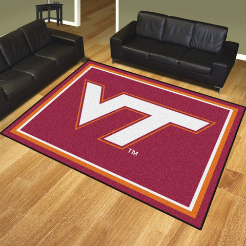 Virginia Tech 8x10 Rug - FANMATS - Dropship Direct Wholesale