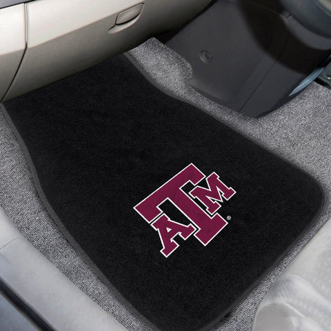 Texas A&M 2-piece Embroidered Car Mats 18x27 - FANMATS - Dropship Direct Wholesale
