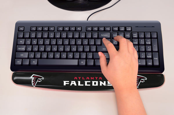 "NFL - Atlanta Falcons Wrist Rest 2""x18"" - FANMATS - Dropship Direct Wholesale"