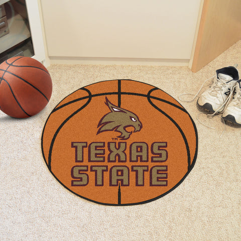 Texas State Basketball Mat 27 diameter - FANMATS - Dropship Direct Wholesale