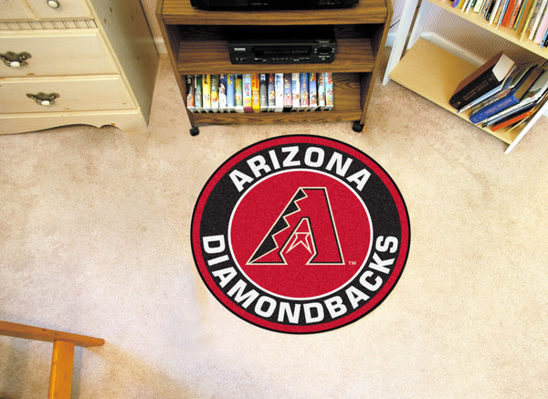 MLB - Arizona Diamondbacks Roundel Mat - FANMATS - Dropship Direct Wholesale