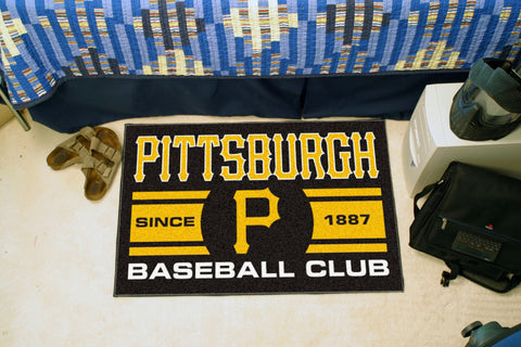 Pittsburgh Pirates Baseball Club Starter Rug 19x30 - FANMATS - Dropship Direct Wholesale