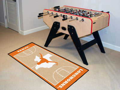 University of Texas Basketball Court Runner 30x72 - FANMATS - Dropship Direct Wholesale