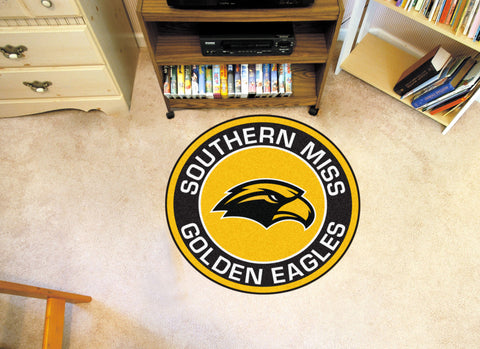 University of Southern Mississippi Roundel Mat - FANMATS - Dropship Direct Wholesale