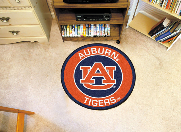 Auburn University Roundel Mat - FANMATS - Dropship Direct Wholesale
