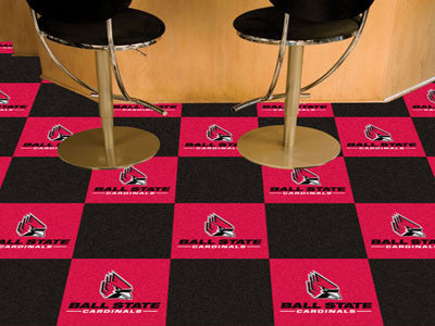 Ball State Carpet Tiles 18x18 tiles - FANMATS - Dropship Direct Wholesale