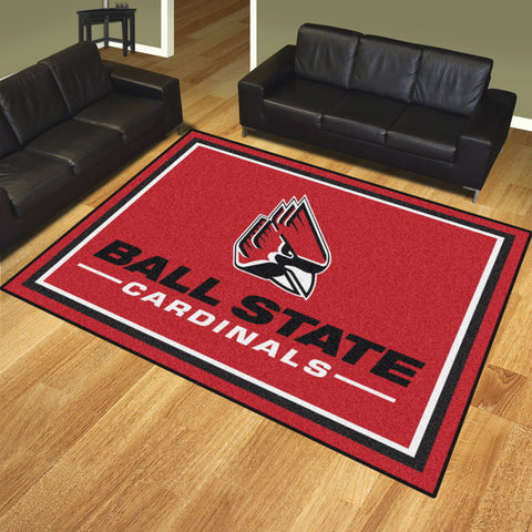 Ball State 8x10 Rug - FANMATS - Dropship Direct Wholesale