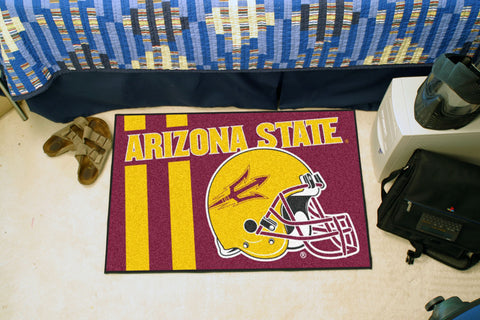 "Arizona State Uniform Inspired Starter Rug 19""x30"" - FANMATS - Dropship Direct Wholesale"