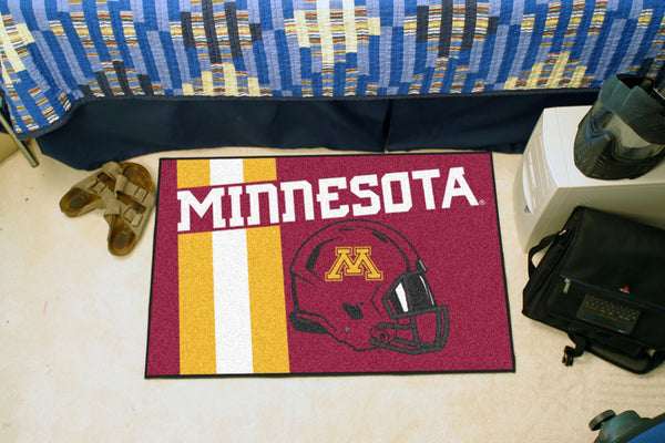 University of Minnesota Uniform Inspired Starter Rug 19x30 - FANMATS - Dropship Direct Wholesale