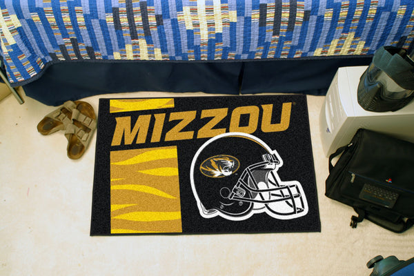 University of Missouri Uniform Inspired Starter Rug 19x30 - FANMATS - Dropship Direct Wholesale
