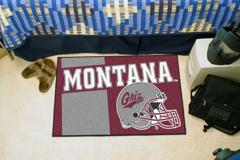 University of Montana Uniform Inspired Starter Rug 19x30 - FANMATS - Dropship Direct Wholesale