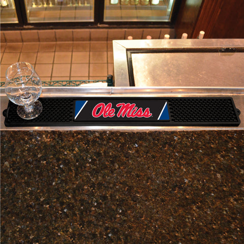 University of Mississippi Drink Mat 3.25x24 - FANMATS - Dropship Direct Wholesale