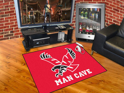 Eastern Washington University Man Cave All-Star Mat 33.75x42.5 - black - FANMATS - Dropship Direct Wholesale