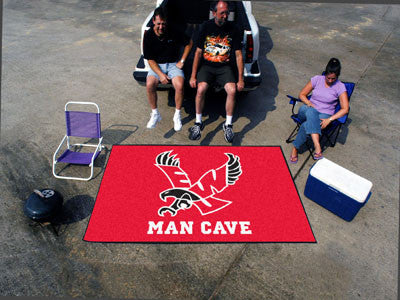 Eastern Washington University Man Cave UltiMat Rug 5x8 - black - FANMATS - Dropship Direct Wholesale
