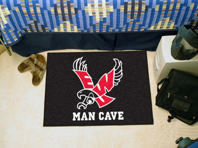 Eastern Washington University Man Cave Starter Rug 19x30 - red - FANMATS - Dropship Direct Wholesale