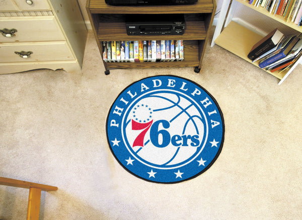 NBA - Philadelphia 76ers Roundel Mat - FANMATS - Dropship Direct Wholesale